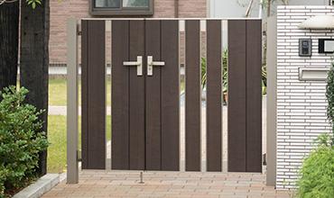 人気の門まわりを工事イメージ