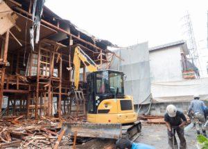 建築物に係る解体工事について画像